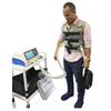 Vest airway clearance system chest vibration therapy machine